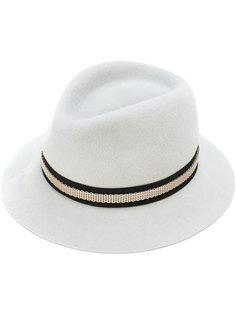 шляпа с цепочной деталью Lanvin
