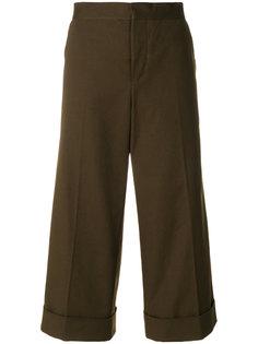 укороченные брюки-кюлоты  Marni
