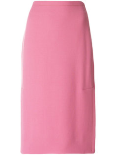 юбка-карандаш с боковым разрезом  Marni