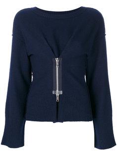 свитер с молнией спереди Dondup