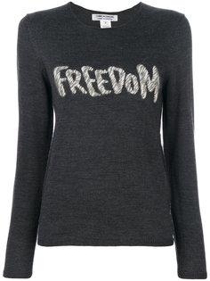 джемпер с вышивкой Freedom Comme Des Garçons Comme Des Garçons