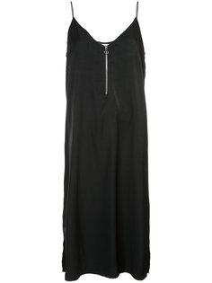 платье на бретелях с молнией спереди Just Female