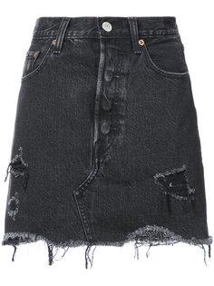 джинсовая юбка с необработанными краями Levis Levis®