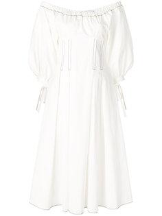 структурированное платье с открытыми плечами Rejina Pyo