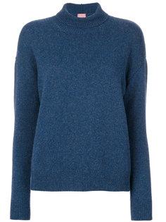свитер с воротником с заворотом Alyki