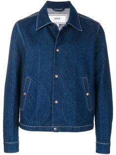 куртка рубашечного кроя Ami Alexandre Mattiussi