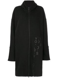 свободное пальто с широкими лацканами  Y-3