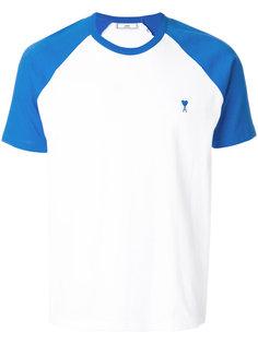 футболка с короткими рукавами-реглан Ami Alexandre Mattiussi