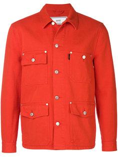 джинсовая куртка с карманами Ami Alexandre Mattiussi