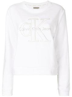 толстовка с вышивкой Calvin Klein Jeans