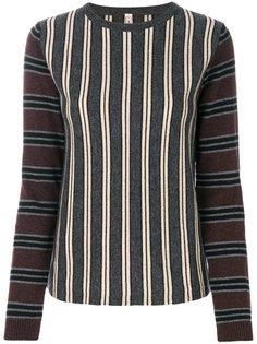 трикотажный свитер в полоску Antonio Marras