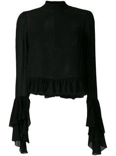 свитер ребристой вязки Giamba