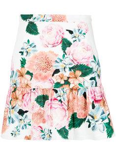 floral print skirt Isolda