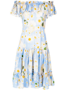 off the shoulder dress Isolda