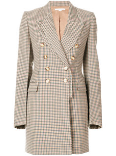 двубортное пальто в клетку  Stella McCartney