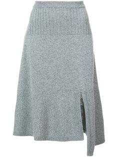асимметричная трикотажная юбка Barrie