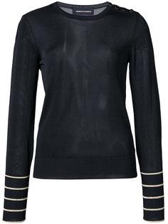 блузка с пуговичной отделкой Vanessa Seward