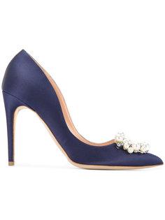 туфли с брошкой из жемчуга Rupert Sanderson