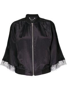 приталенная куртка с прозрачными деталями Diesel