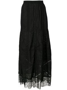 юбка с вышивкой Diesel
