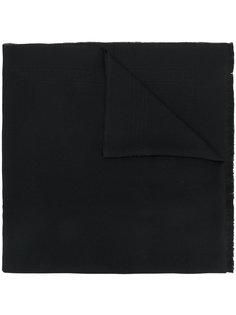 шарф с бахромой Versace