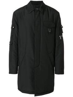 пальто с карманом на молнии Versus