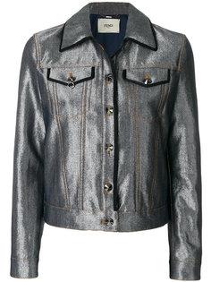 джинсовая куртка Karlito Fendi