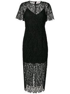 многослойное платье миди  Dvf Diane Von Furstenberg