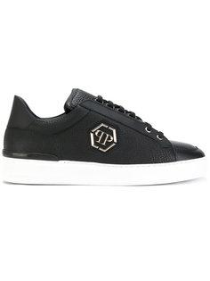 кроссовки на шнуровке с логотипом Philipp Plein