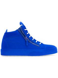 хайтопы на шнуровке Giuseppe Zanotti Design