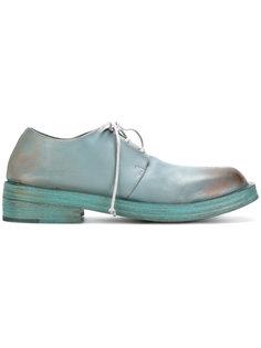 ботинки-дерби с эффектом ржавчины Marsèll