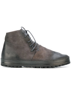 ботинки с эффектом поношенности Marsèll