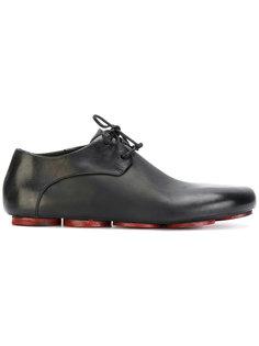ботинки со шнуровкой и контрастной подошвой Marsèll