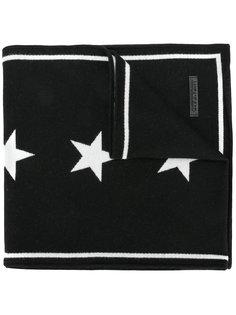 трикотажный шарф со звездами Givenchy