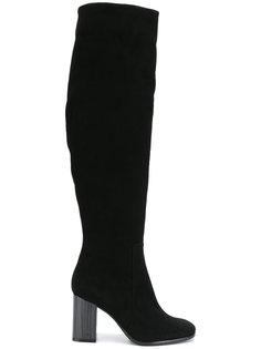 ботфорты на контрастном каблуке Baldinini