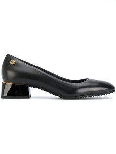 туфли-лодочки на массивном каблуке Baldinini