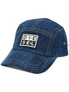 джинсовая бейсболка Diesel