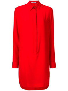 платье-рубашка с потайной планкой  Givenchy