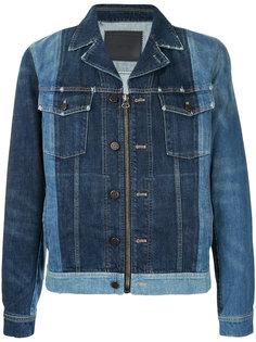 панельная джинсовая куртка Lanvin