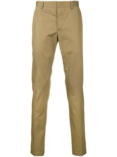 брюки строгого кроя с полоской сбоку Lanvin
