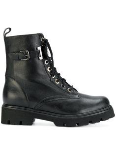 """ботинки в стиле """"милитари"""" со шнуровкой Baldinini"""