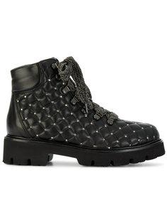 стеганые ботинки Baldinini