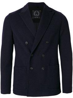 двубортное пальто с заостренными лацканами T Jacket