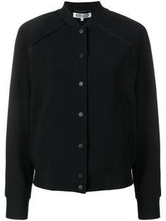 куртка-бомбер с заплаткой на спине Tiger Kenzo