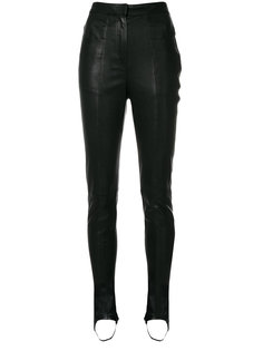 брюки с высокой талией Balmain