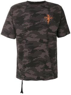 футболка с камуфляжным принтом Unravel Project