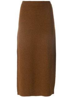 юбка с боковым разрезом  Pringle Of Scotland
