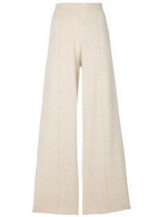 широкие брюки  Pringle Of Scotland