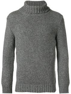 свитер с высокой горловиной Zanone