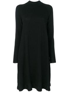 трикотажное платье с круглым вырезом Odeeh